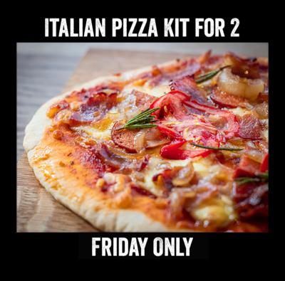 Italian Pizza Kit for 2