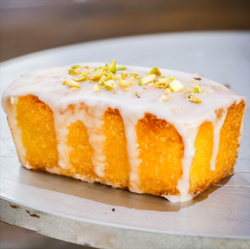 Cake Box - Lemon Polenta