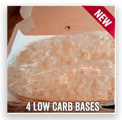 4 Low Carb Pizza Bases