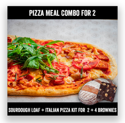 Pizza Meal Combo for 2