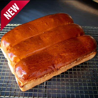 4 Hot Dog Loaf Buns
