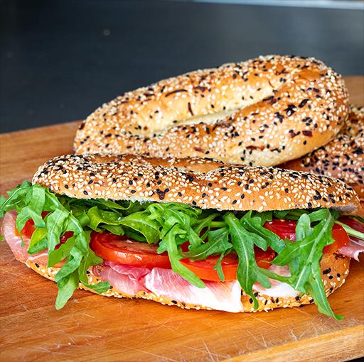 Jerusalem Bagel Sandwich Box (Makes 4)