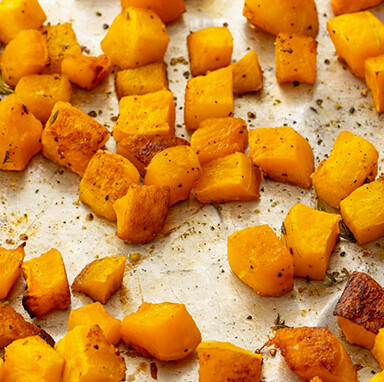 Roasted Butternut Topping for 2