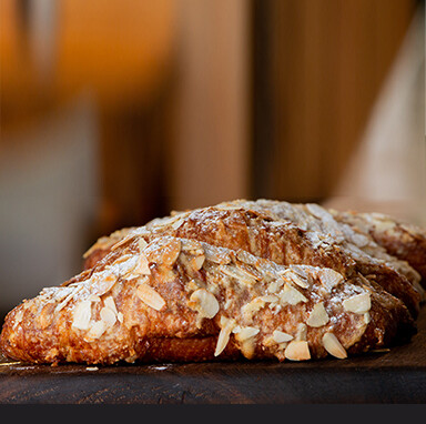 Double Baked Almond Croissant