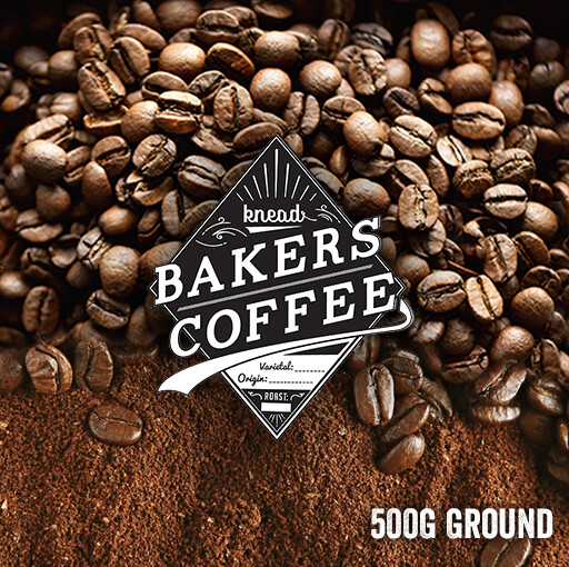 Knead Bakers Ground Coffee 500g