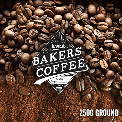 Knead Bakers Ground Coffee 250g