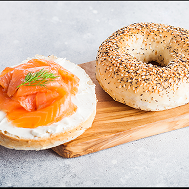 Bagels, Salmon & Cream Cheese
