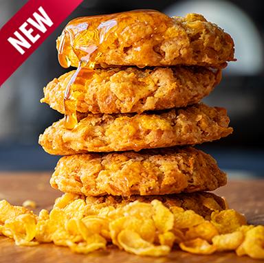 6 Honey Crunch Cookies