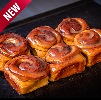 Cinnabun & Fynbos Honey Tray Bake (bake at home)