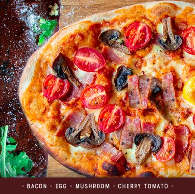 Pizza Kit for 2 - Breakfast