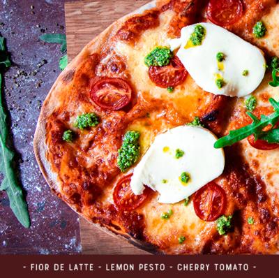 Pizza Kit for 2 - Margherita Deluxe