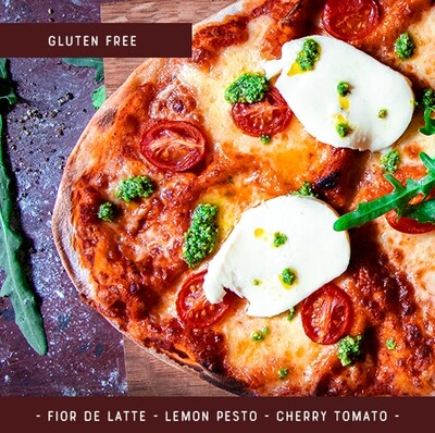 Gluten Free  Pizza Kit for 2 - Margherita Deluxe