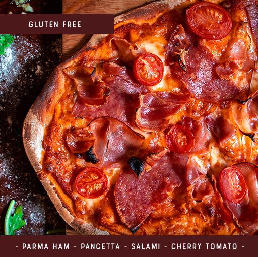 Gluten Free Pizza Kit for 2 - Three Meats