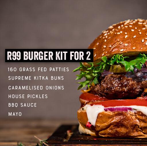 R99 Burger Kit for 2