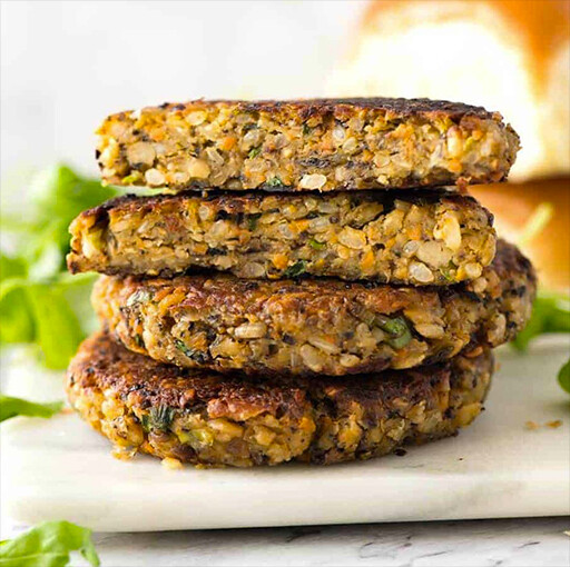 2 Veg Burger Patties