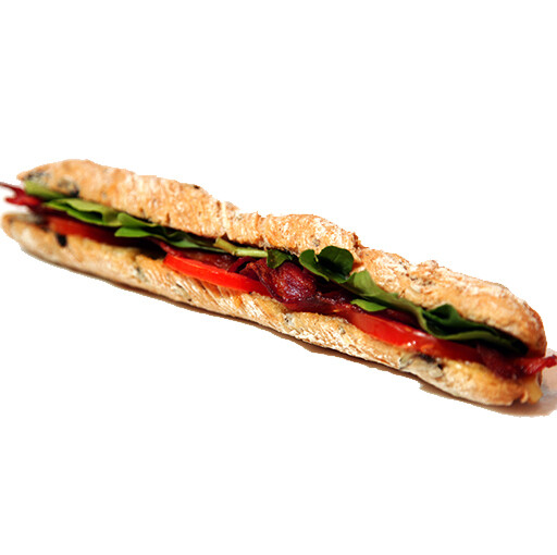 Sandwich - Bacon Rocket and Tomato