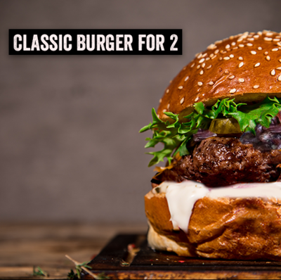 Burger Kit for 2 - Classic