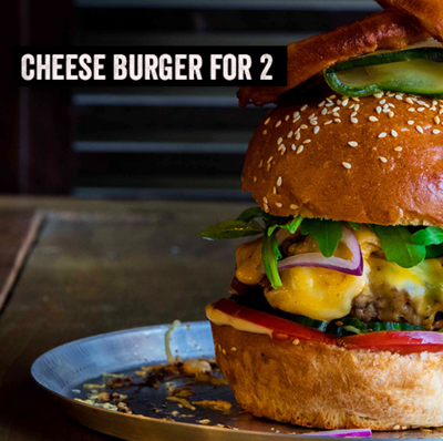 Burger Kit for 2 - Cheese