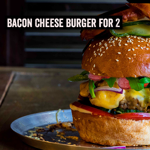 Burger Kit for 2 - Bacon Cheese