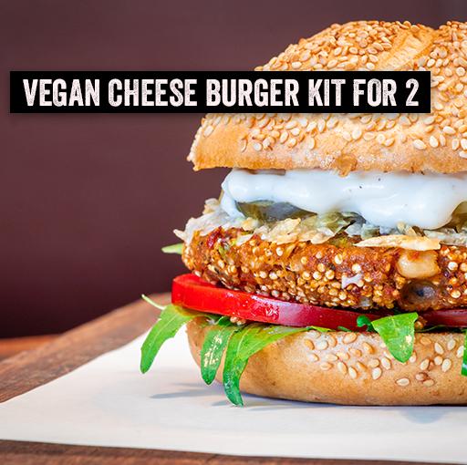 Burger Kit for 2 - Vegan Cheese
