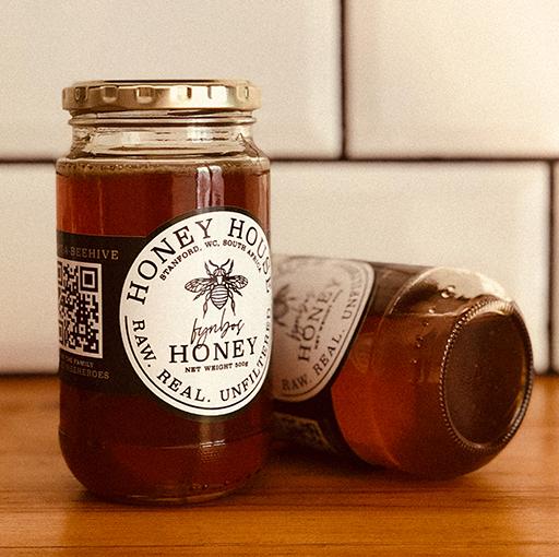 Honey House Raw Fynbos Honey (500g)