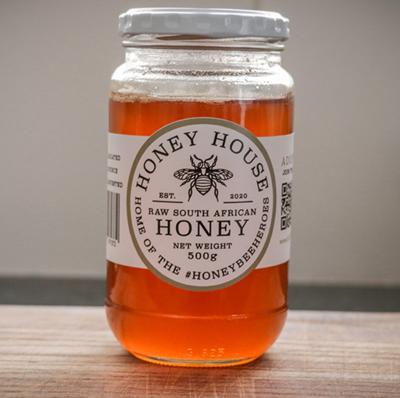 Honey House Raw Multi Flora Honey (500g)