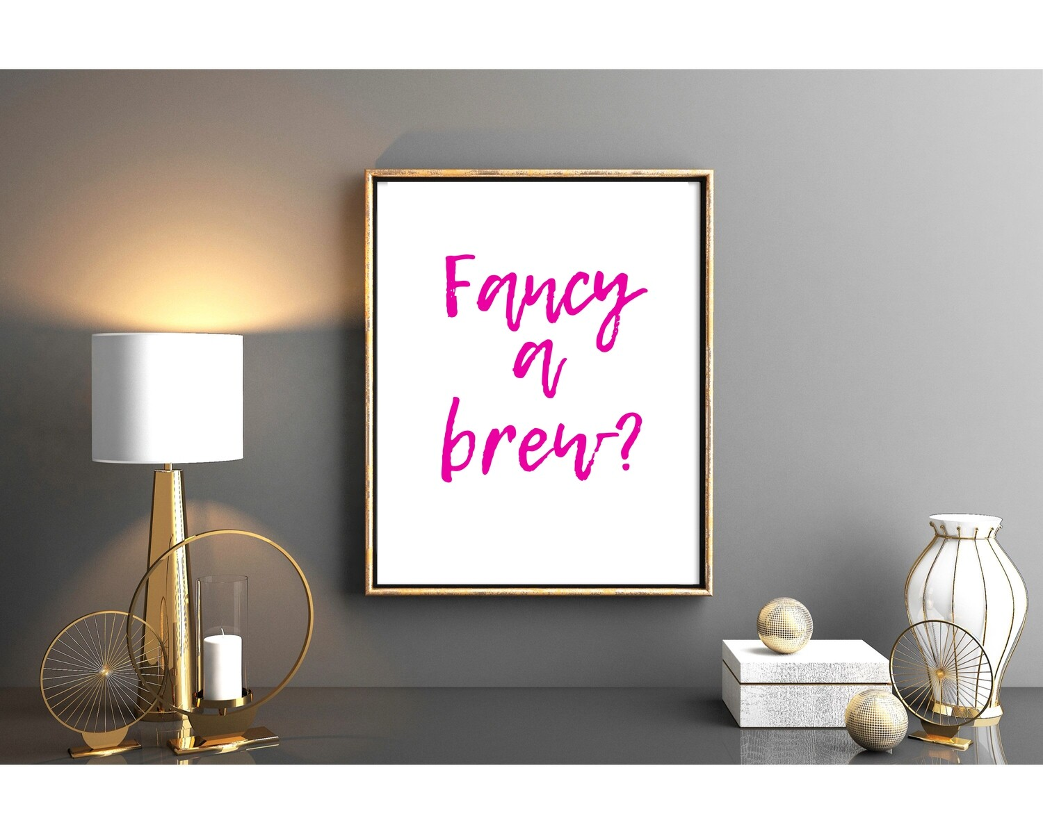 Fancy a brew  PINK