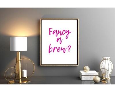 Fancy a brew  PINK