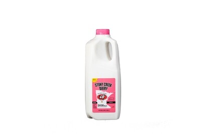 Stony Creek Dairy Skim Milk Half Gallon