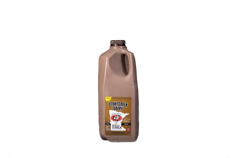 Stony Creek Dairy Chocolate Milk Half Gallon