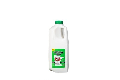 Stony Creek Dairy 1% Milk Half Gallon