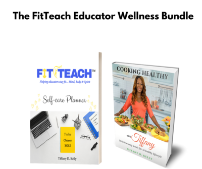Cookbook and FitTeach Planner Bundle w/FREE Shipping