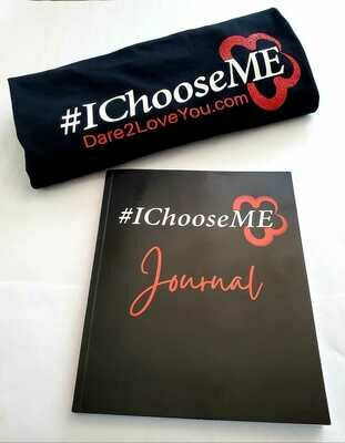 The #IChooseME  Bundle (T-shirt + Journal + Shipping)