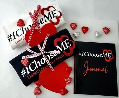 The #IChooseME  Bundle (T-shirt + Journal + Shipping)