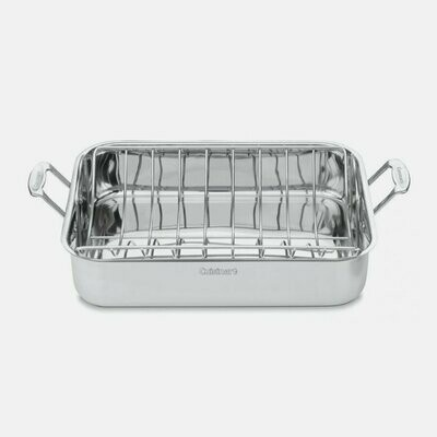 Roasting Pan With Rack - 16 inch