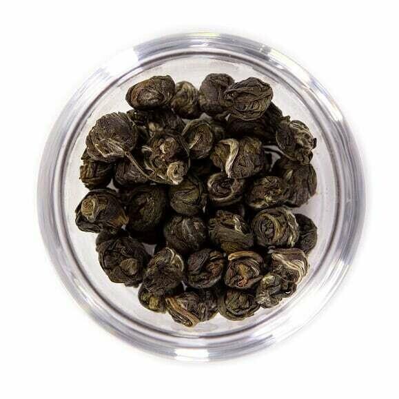 Jasmine Pearls Green Tea - Tin (2oz)