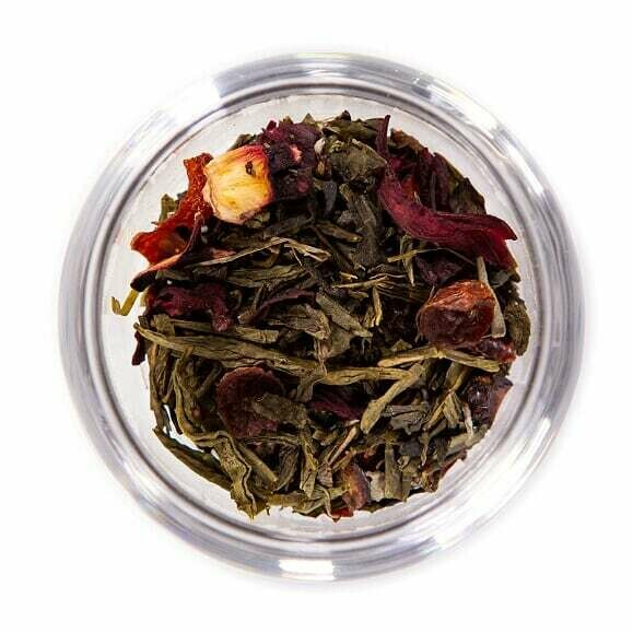 Hibiscus Cranberry Green Tea - Tin (2oz)
