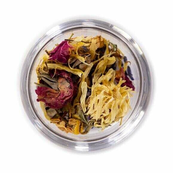 Rose Repose Herbal Tea - Tin (1.5oz)