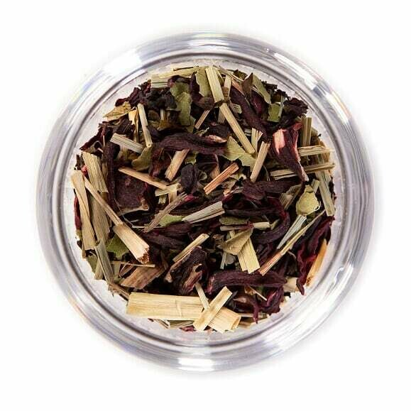 Lemon Hibiscus Organic Herbal Tea - Tin (2oz)