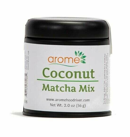 Coconut Matcha Mix Green Tea - Tin (2oz)