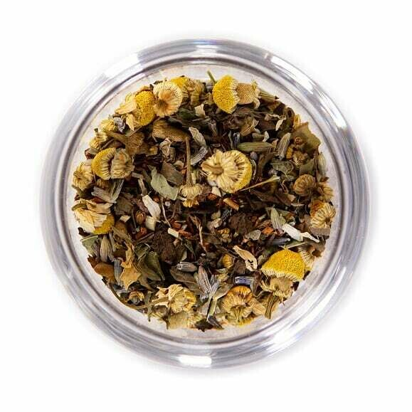 Peaceful Mind Organic Herbal Tea - Tin (2oz)
