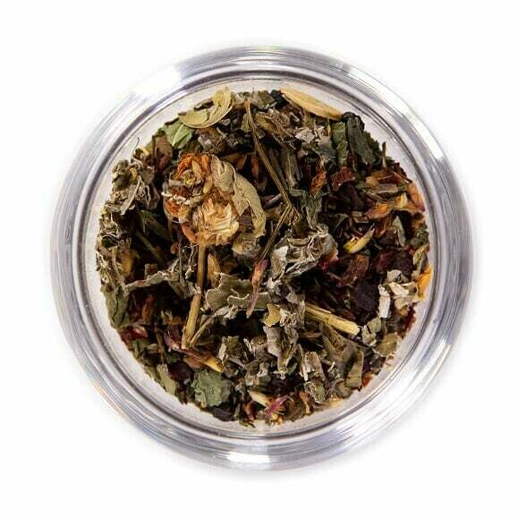 Raspberry Fields Herbal Tea - Tin (2oz)