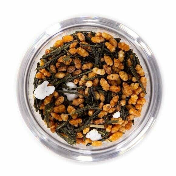 Genmaicha Green Tea - Tin (2oz)