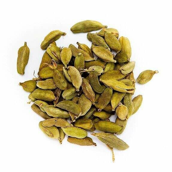 Cardamom Green Pods Organic - Lrg Bag (4oz)