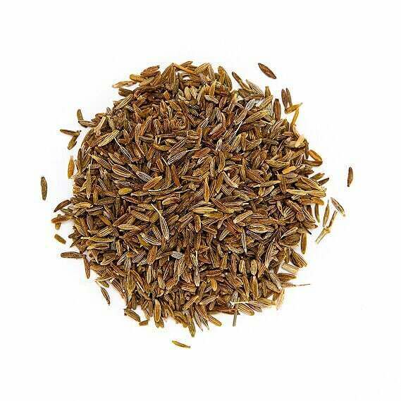 Cumin Seed Whole Organic - 1/2 cup Shaker Jar (1.8 oz)