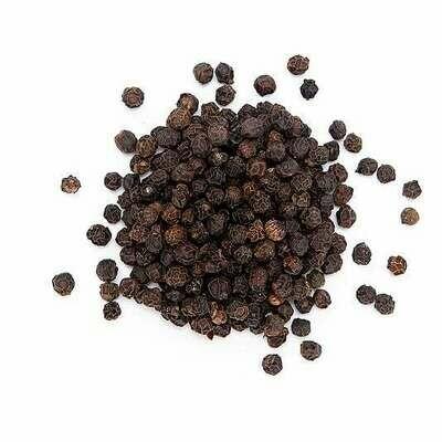 Peppercorns Black Organic - 1/2 cup Shaker Jar (2 oz)