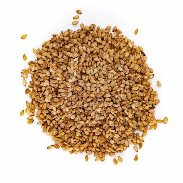 Sesame Seeds White Toasted - Lg Bag (4 oz)