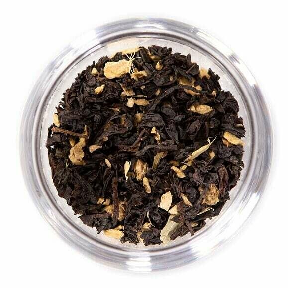 Ginger Peach Black Tea - 4oz Bag