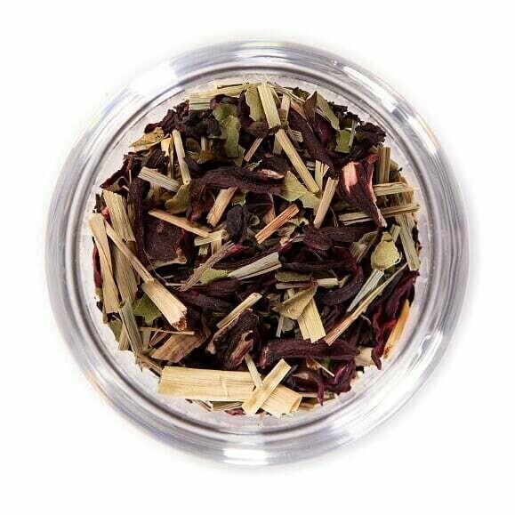 Lemon Hibiscus Organic Herbal Tea - 4oz Bag
