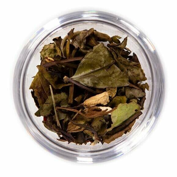 Vanilla Peach White Tea - 8oz Bag